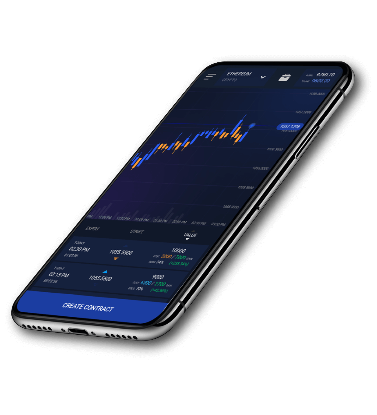 Level01 Derivatives Exchange App