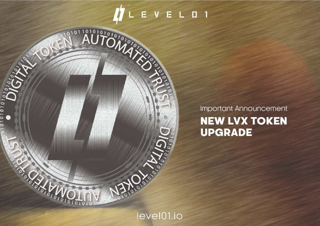 LVX Token Announcement DeFi Level01