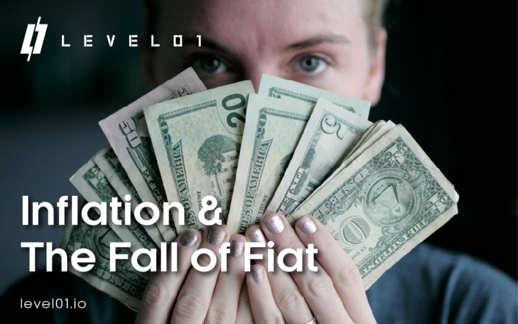 Hyperinflation in Fiat Currency Level01 Logo DeFi