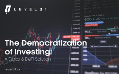 investment charts for DeFi platform level01