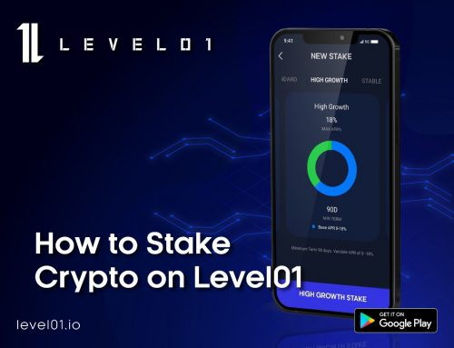How to Stake Crypto on Level01